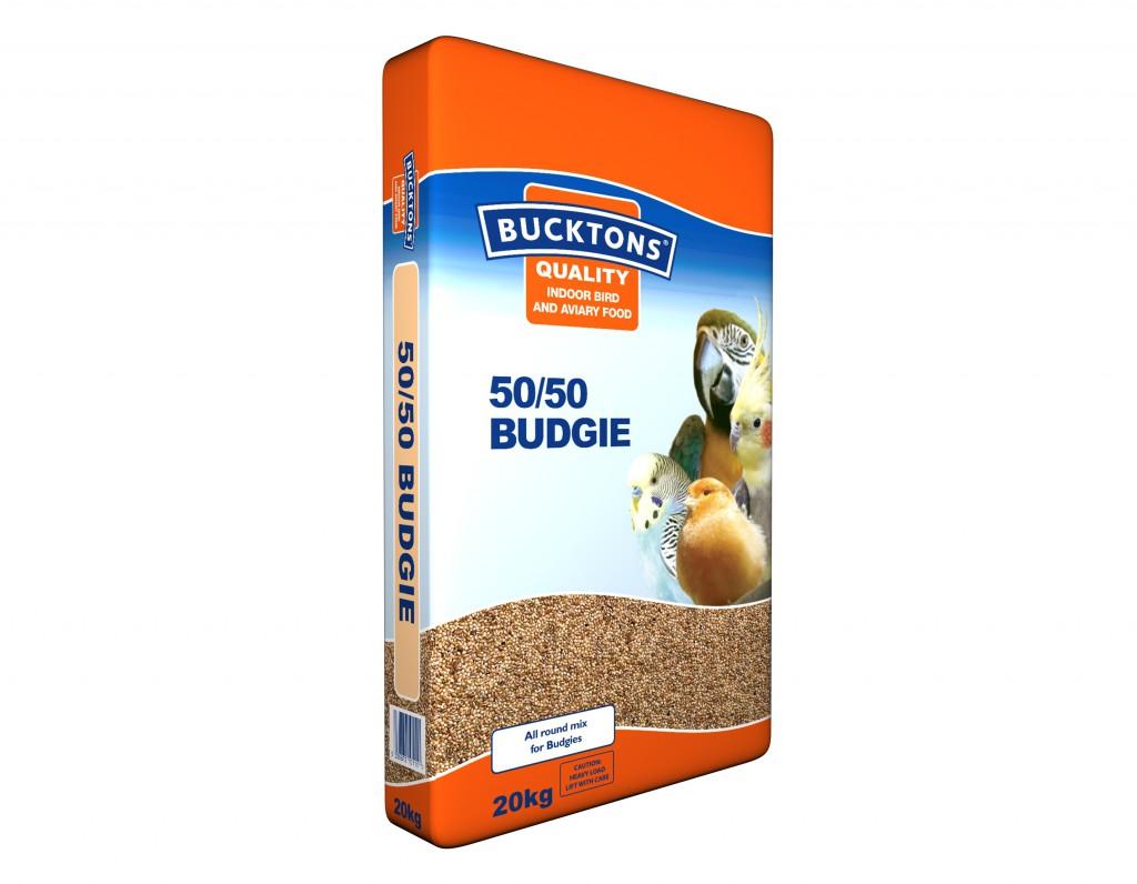 Bucktons Indoor & Aviary 50 50 Budgie 3D