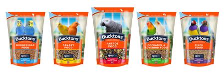 Bucktons Aviary Food Range