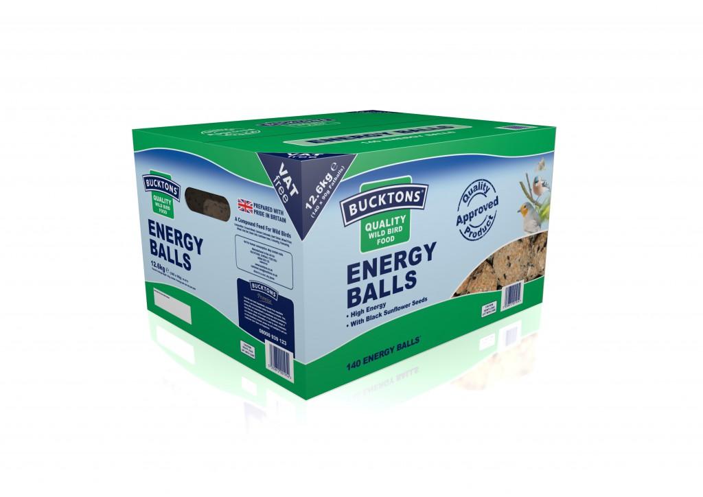 Bucktons Energy Balls 144 Box