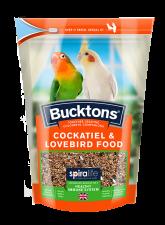 Bucktons Cocktiel & Lovebird Food 500g
