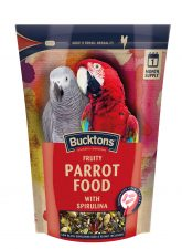 Bucktons Fruity Parrot Food with Spirulina