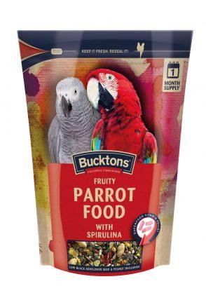 Bucktons Fruity Parrot Food with Spirulina