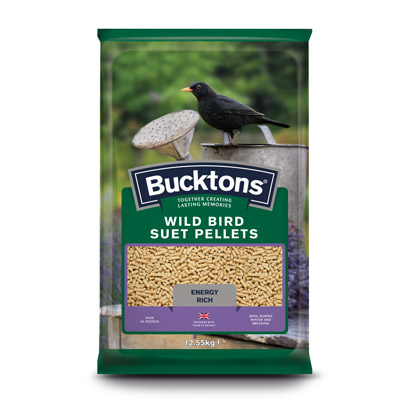 Bucktons Wild Bird Suet Pellets
