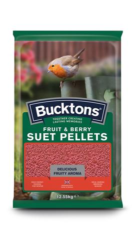 Fruit & Berry Suet Pellets