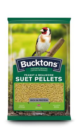 Peanut & Mealworm Suet Pellets
