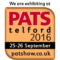 We are exhibiting at PATS Telford 2016