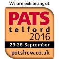 We are exhibiting at PATS Telford 2016