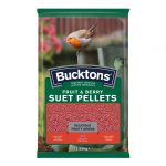Fruit & Berry Suet Pellets 12.55kg