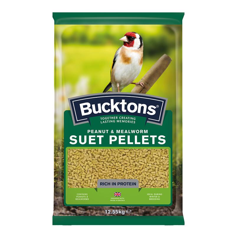 Peanut & Mealworm Suet Pellets 12.55kg