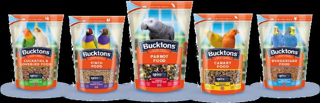 Bucktons-Aviary-Food