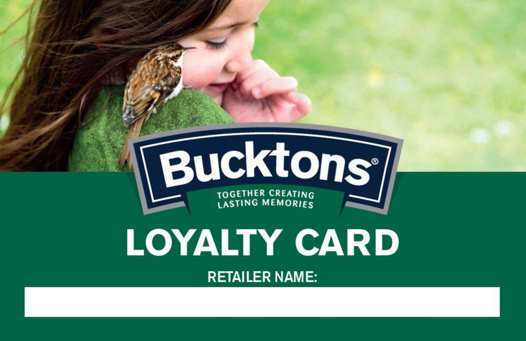 Bucktons Loyalty Card